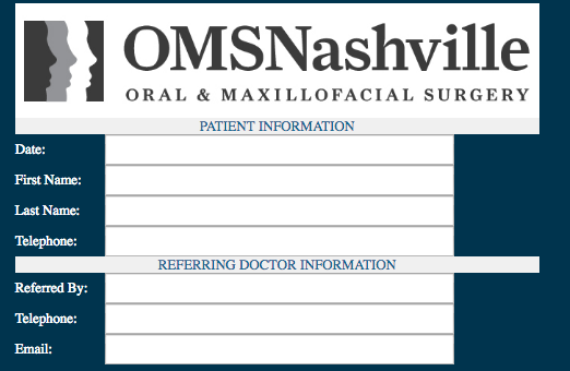 Referring Patients to OMSNashville